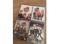 The Big Bang Theory (Season 1, 2, 3 and 4)