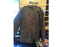 Timberland boys coat (Olive) and Fleece (Navy) aged 10