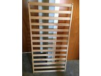Solid cot frame - base, sides, ends - free to collect