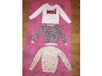Immaculate girls clothes bundle age 5-6 most worn once some new items next H&M and mothercare
