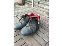 Patrick Rugby Boots X2 Sizes 3 and 5.5