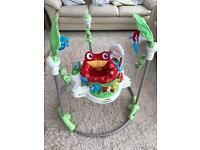 Jumperoo - fisher price - rainforest