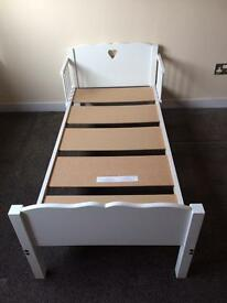 White Cot Bed / Junior bed