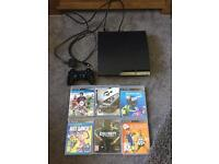 PS3, games and controller