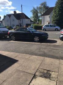Car Audi A4 convertible px swap