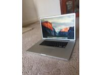 """Apple MacBook Pro 17"""" 2.8GHz 8GB 1000 GB ,A++ Grade 3 Month Warranty. FREE DELIVERY"""