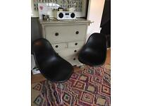 Eames style Eiffel chairs
