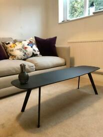 Heal's Black Contemporary Coffee Table for sale