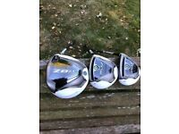 TaylorMade RBZ Stage 1 Driver, 3 Wood and Rescue
