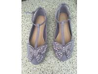 Lilac party shoes from Next - adult size 3