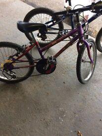 Child's bike 6-8 years old