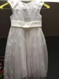 Flower girl dress (2 year old)