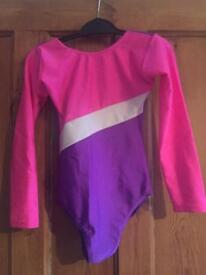Trappers and Pointers gymnastics leotard