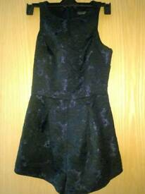 Topshop playsuit size 8