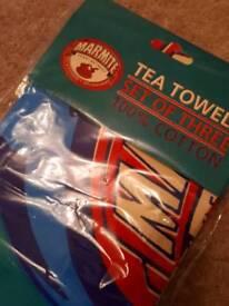 Marmite tea towels