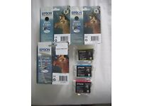 Genuine Epson ink Cartridges - over £100 worth for £50.00