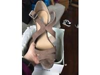 Brand new Dorothy Perkins wedge heel size 4