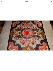 BRAND NEW Stunnng Mary Katrantzou Large Square Scarf