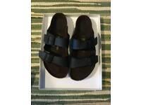 Birkenstock double strap Arizona Shoes Man 44 black