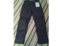 Ladies Frank Thomas Motorcycle Trousers Size 10 regular