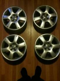 "15"" Alloy wheels 4× VW Golf audi"