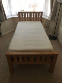 Hard wood Single adjustable massage bed for sale.