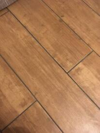 10 porcelain wooden effect tiles