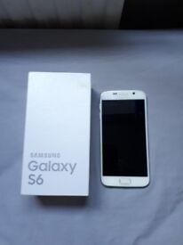 Samsung Galaxy S6 , 32GB, Unlocked (problem with charging port)