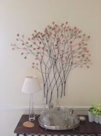 Gorgeous Contemporary Flower Wall Art