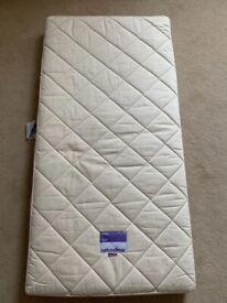Organic wool cot mattress, excellent condition! Naturalmat Coco Mat 120cm x 60cm