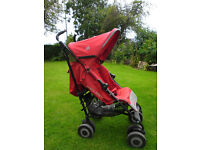 MacLaren Techno XT Pushchair/Pram (Red)