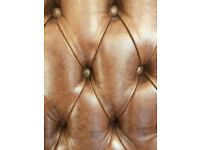 Beautiful hand crafted leather chairs