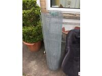 Chicken wire for sale 11 feet by 3 feet