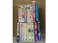 VHS video tapes - 15 assorted children's