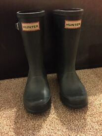 Kids Hunter wellies size 10