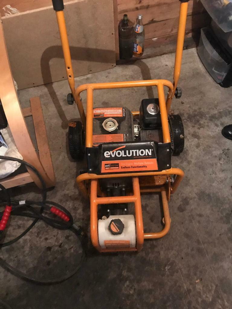 Evolution Multi Purpose Engine With Pressure Washer Water Pump