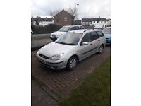 Ford focus for sale great running car will be sold with full year mot brillant service history