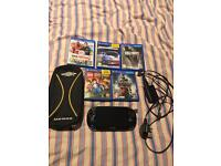 Play station vita +5 games all accessories