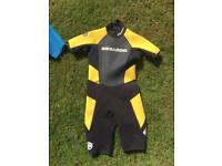 3 Shortie wetsuits