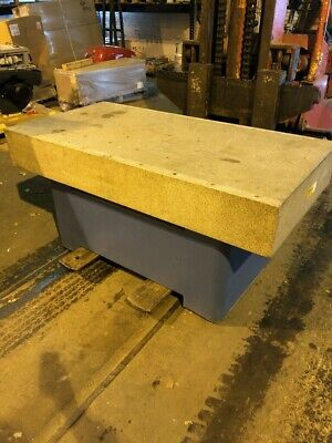 Starrett Granite Surface Plate 36d X 72w 33 Height