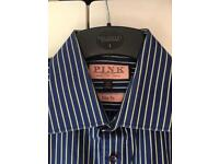 3 Thomas Pink shirts slim fit 15.5 - immaculate