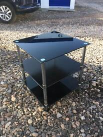 Selling a black glass table