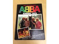 vintage ABBA Annual from 1979 - official 1970s annual