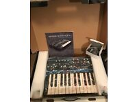 Novation Bass Station II perfect boxed Analog Synthesiser, acid and MIDI controller. W1 pickup
