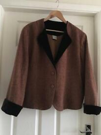 Beautiful wool mix jacket from Poetry. Size 18-20