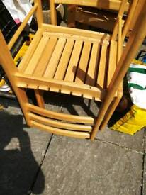 4 chairs. Or make me an offer