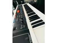 White Roland Juno DI Synth