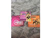 7 Disc Zumba DVDs
