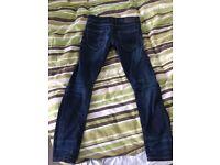 Jack and Jones dark blue jeans W32 L32. Good condition