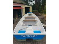 21ft poole canoe fishing boat